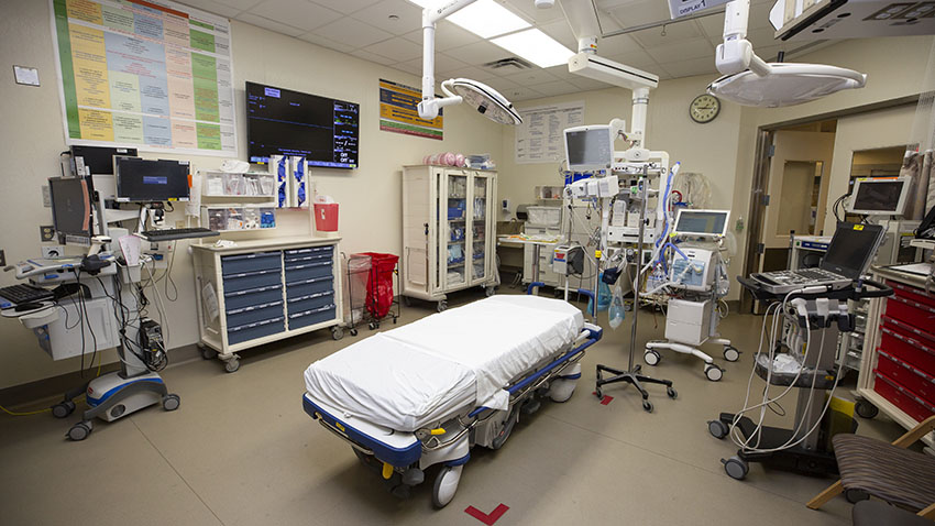 Emergency Medicine: Department-Based Intensive Care Unit