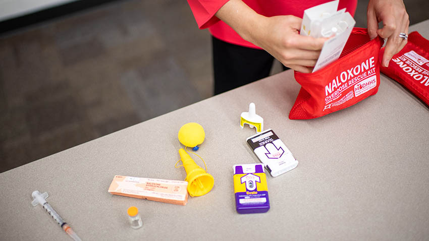 Naloxone in a bag
