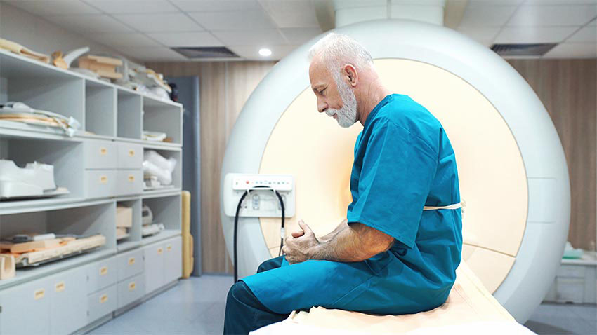 MRI scanning procedure