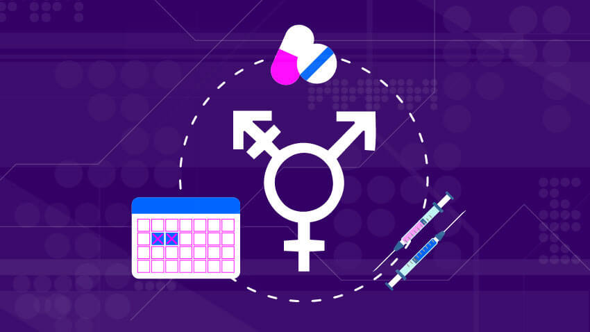 Transgender insurance hormonal items